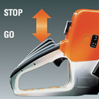 MS - STIHL Quickstop® Plus (Q) chain braking feature
